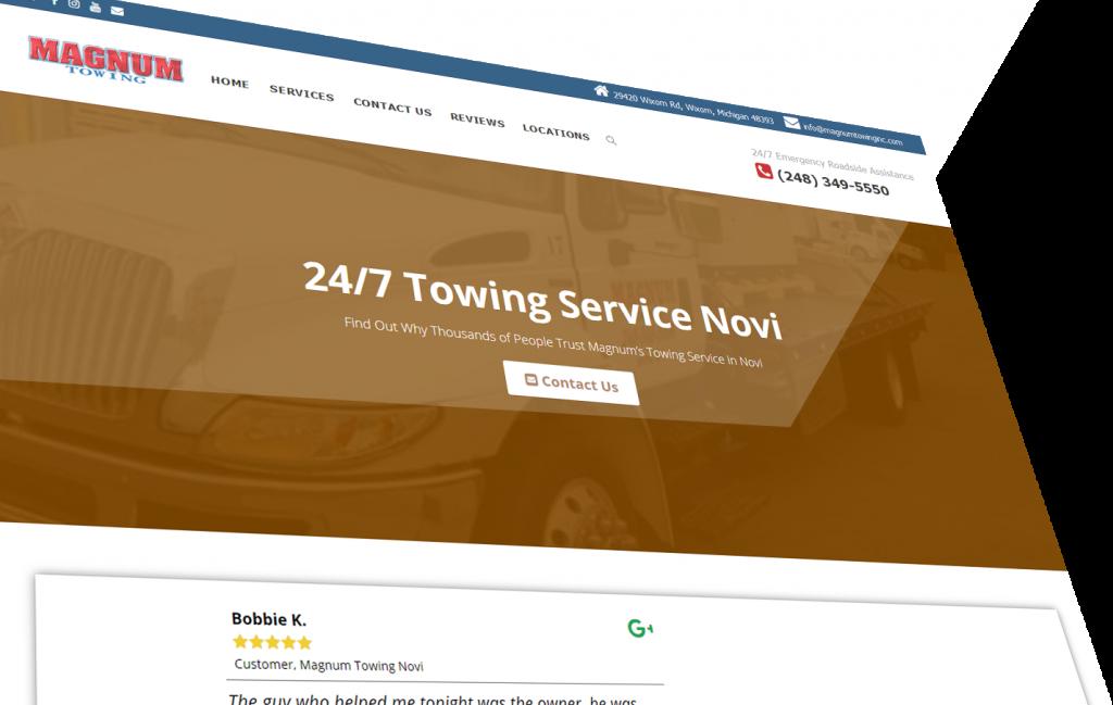 novi location page